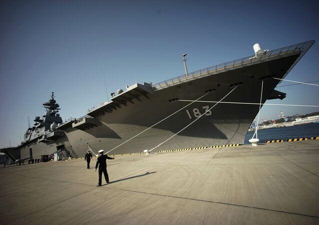 destroyer porte-hélicoptères de classe Izumo des Forces japonaises d'autodéfense
