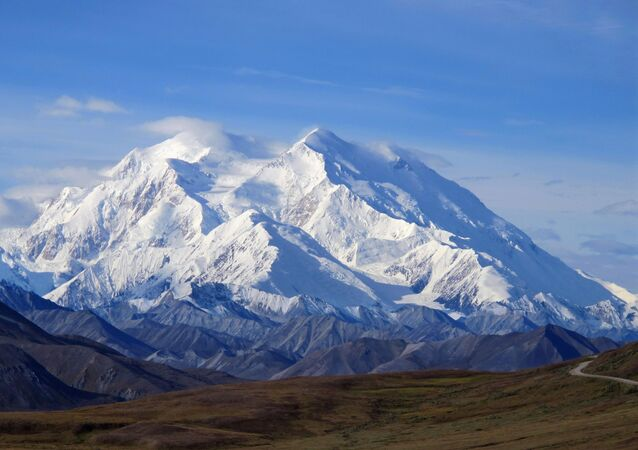 Le Denali, le point culminant des USA, situé en Alaska