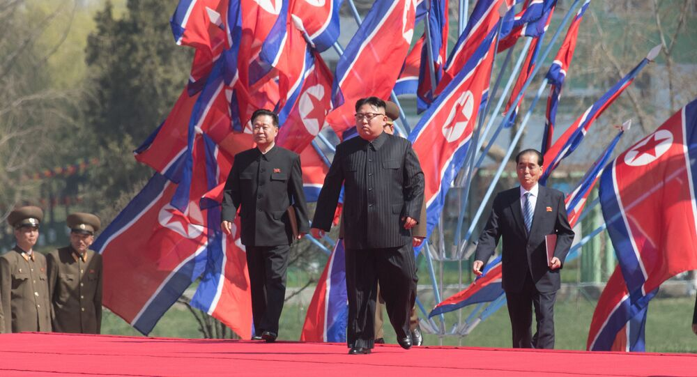 Kim Jong-un à Pyongyang