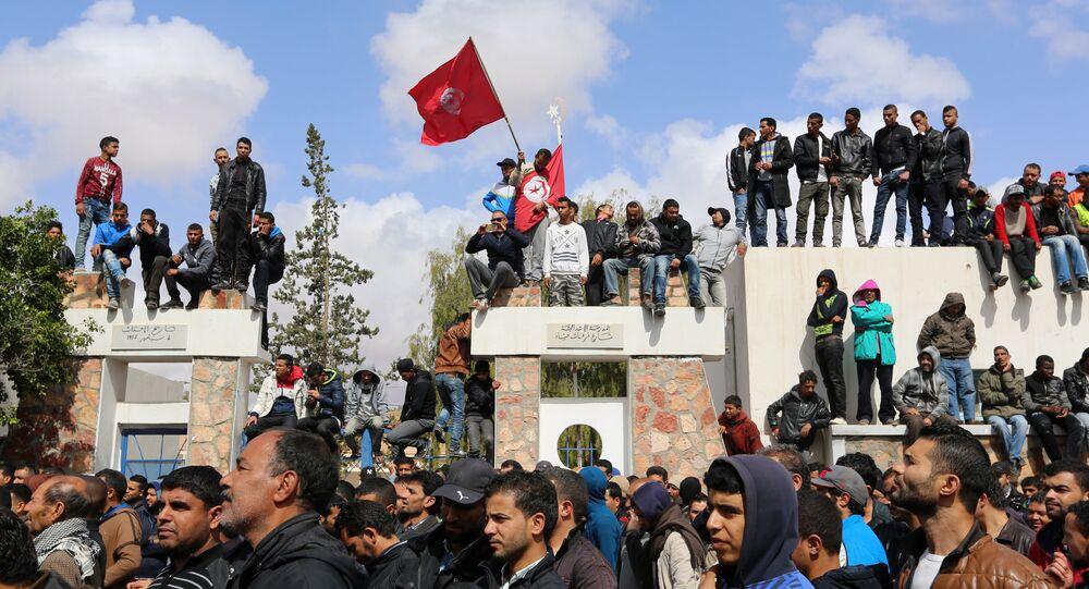 Manifestations à Tatouine