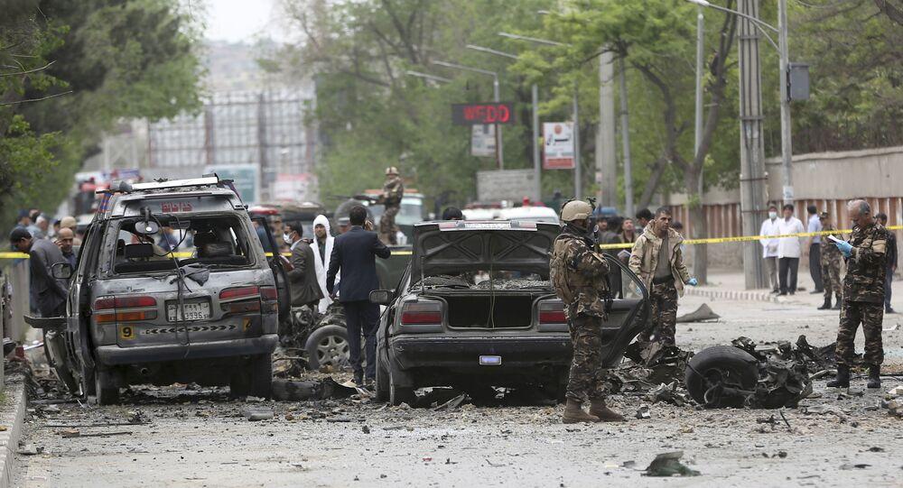 Attentat suicide à Kaboul contre un convoi de l'Otan, 8 morts et plusieurs blessés