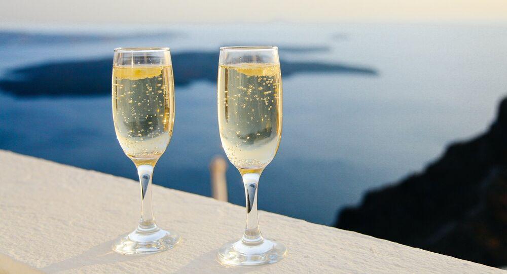 champagne, image d'illustration