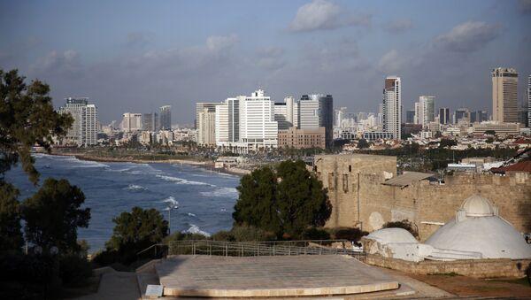 A picture taken on November 29, 2015 shows the Tel Aviv skyline from the neighbourhood of Jaffa - Sputnik France