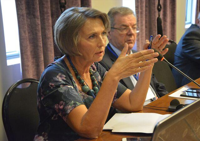 La rédactrice en chef de Sputnik Serbia, Ljubinka Milinčić