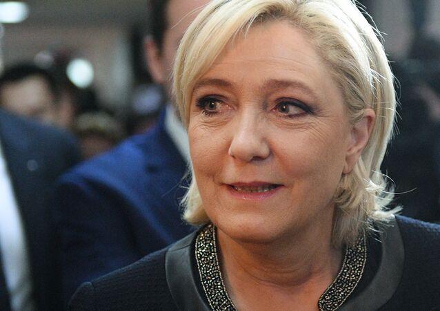 Marine Le Pen. Photo d'archive