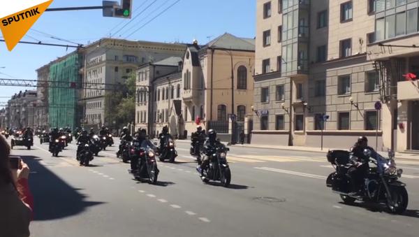 Le festival «Moscou, ville des motards» - Sputnik France