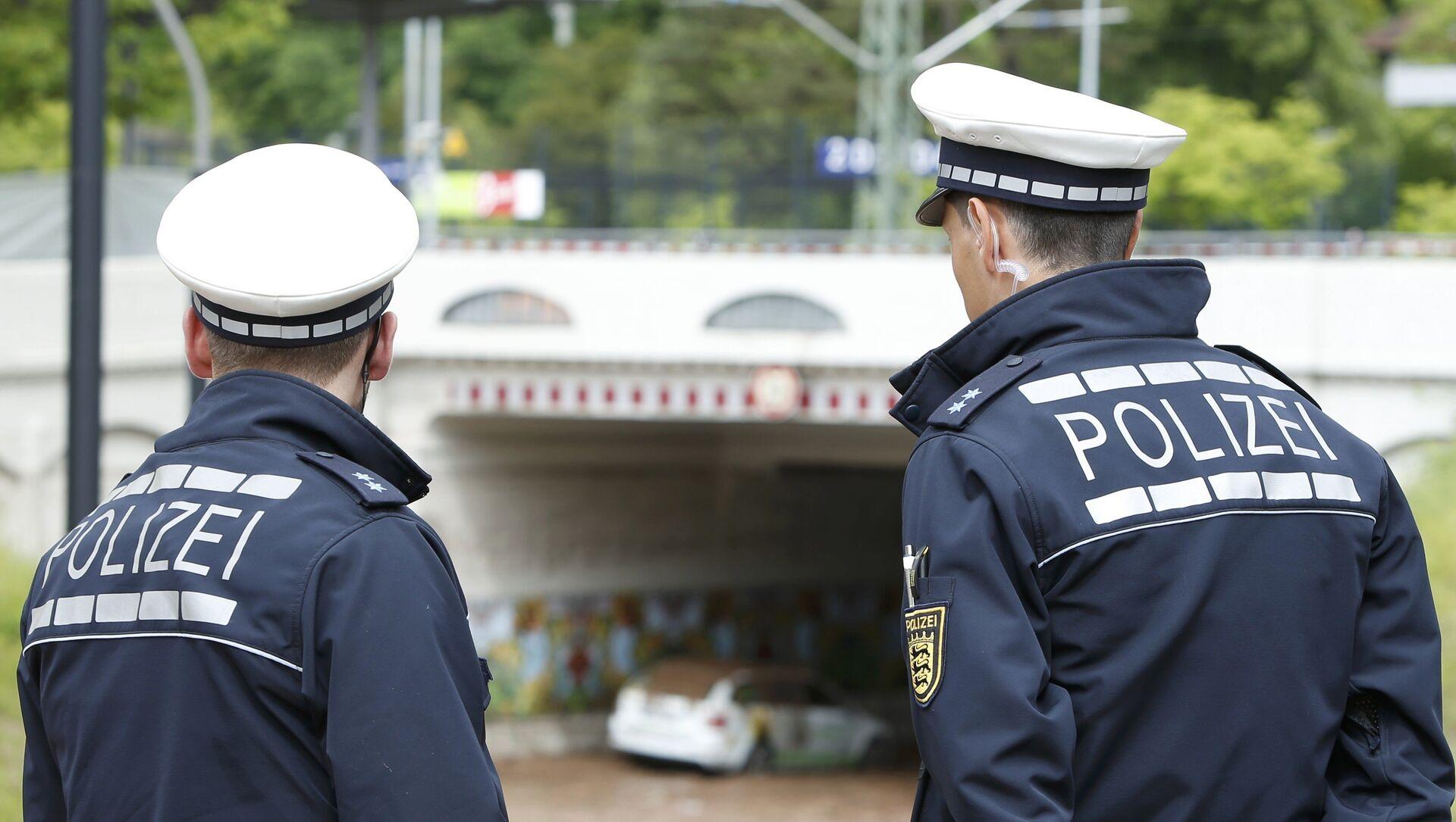 Police allemande - Sputnik France, 1920, 07.09.2021