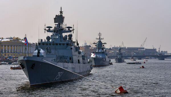 Le destroyer US dans la Baltique n'affectera pas la parade navale à Saint-Pétersbourg - Sputnik France