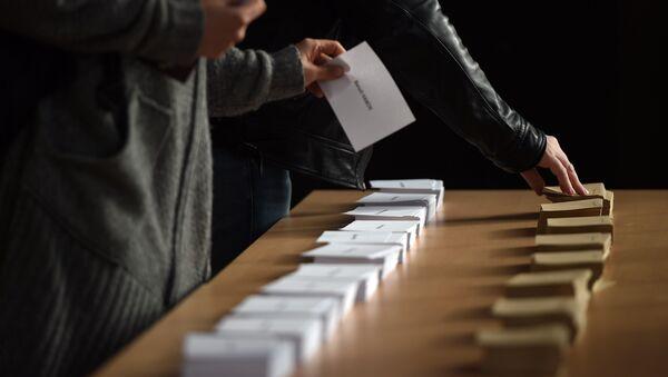 bulletin de vote, photo d'illustration - Sputnik France
