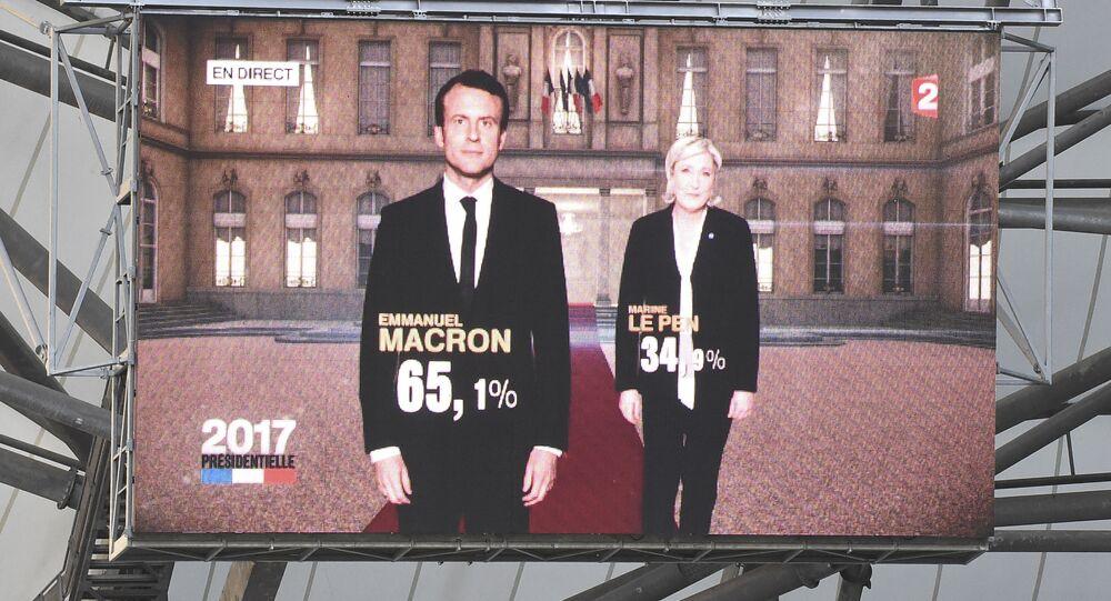 Macron et Le Pen