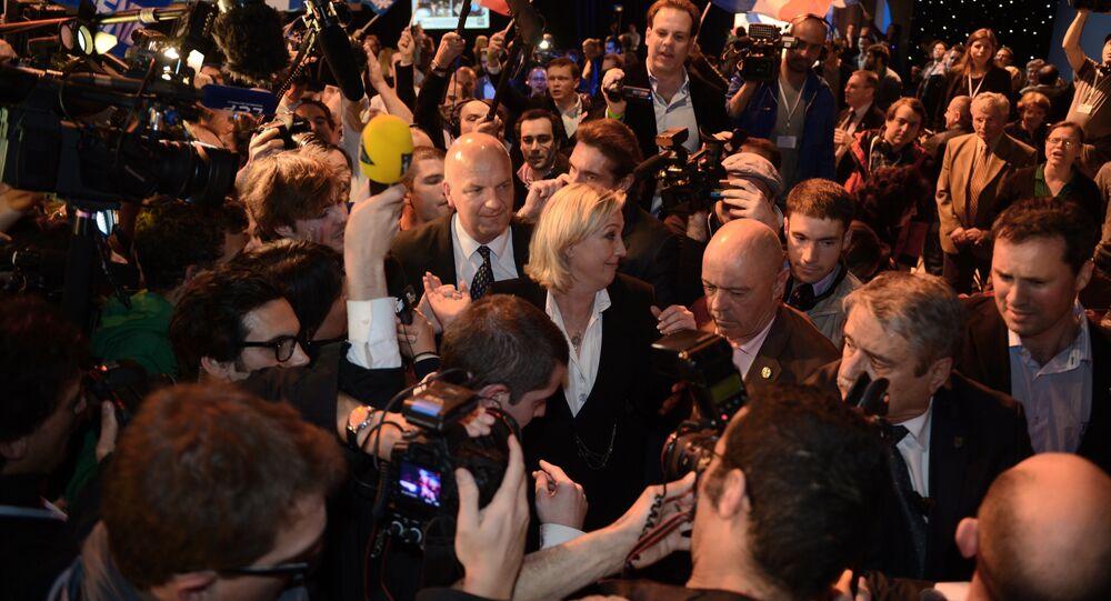 soirée électorale FN