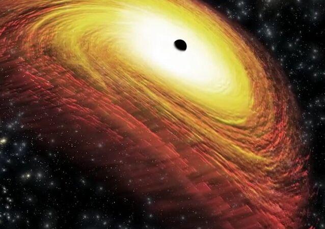 CXO J101527.2+625911, un trou noir supermassif reculant