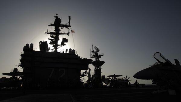 Porte-avions modernisé USS Abraham Lincoln, même pas peur! - Sputnik France