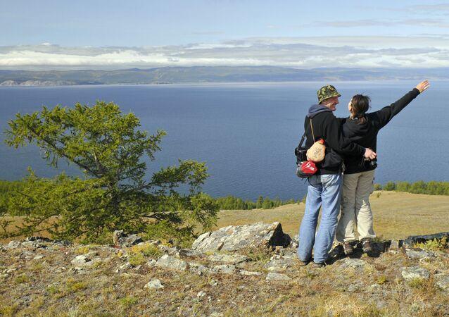 Les rives du lac Baïkal