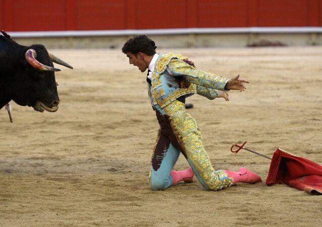 Corrida fatale: un matador tué par un taureau en France