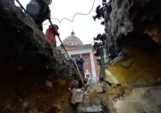 Cinq chambres secrètes retrouvées dans le centre de Moscou