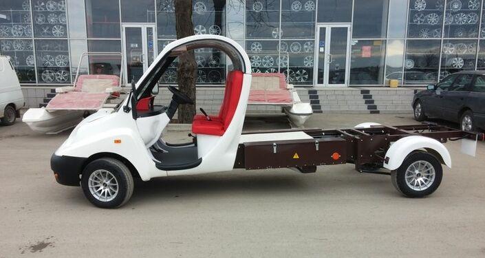 Un camion électrique