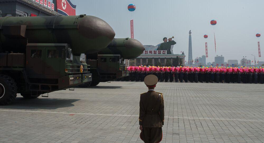 Le missile nord-coréen