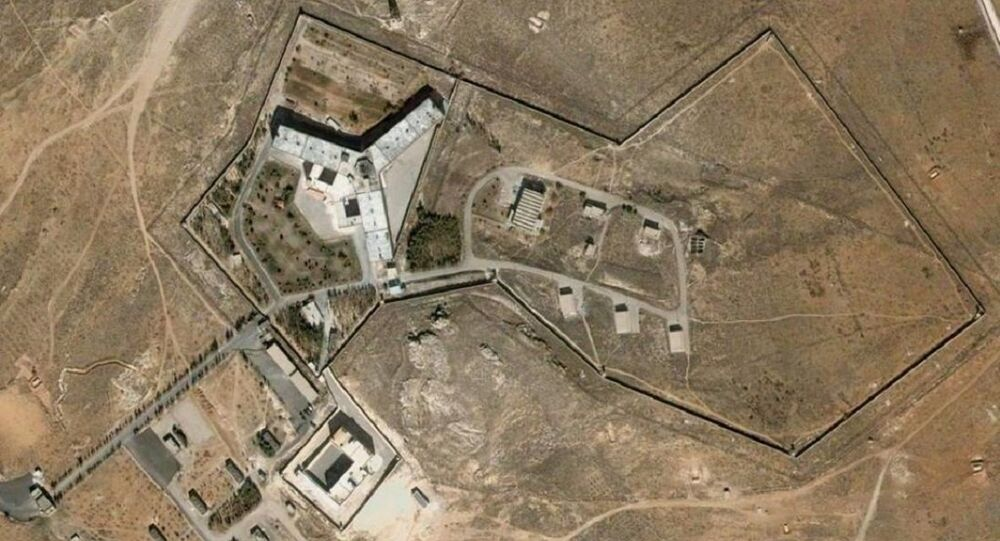 Prison de Saidnaya, dans la banlieue de Damas