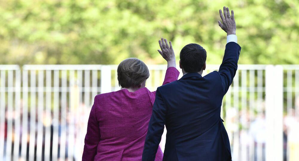 Emmanuel Macron à Berlin