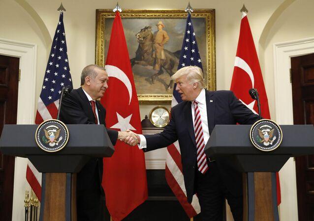 Donald Trump et Recep Tayyip Erdogan