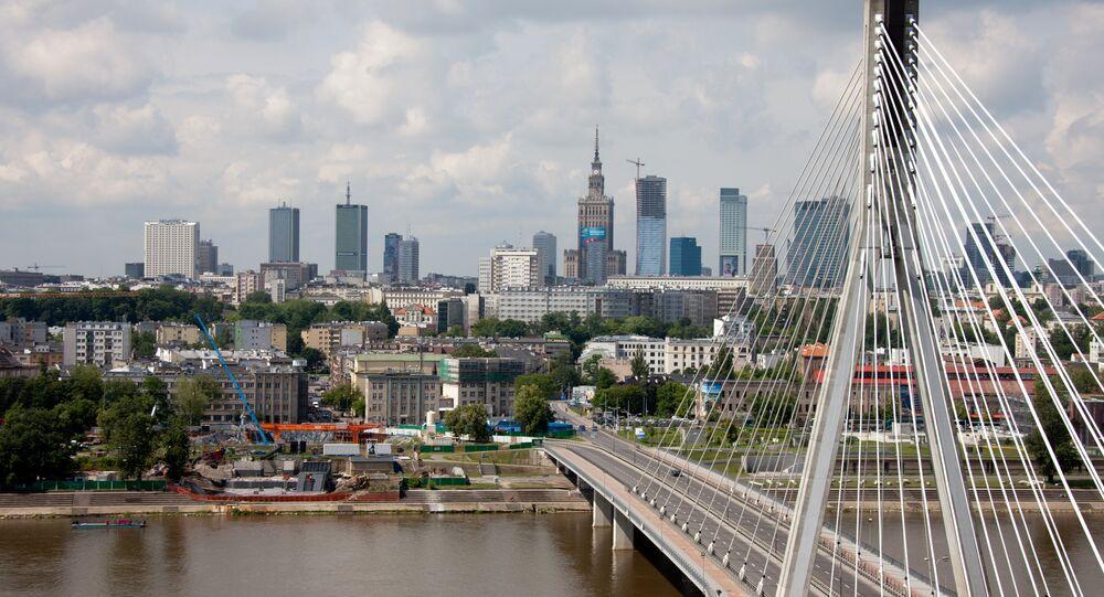 Vue de Varsovie. Image d'illustration