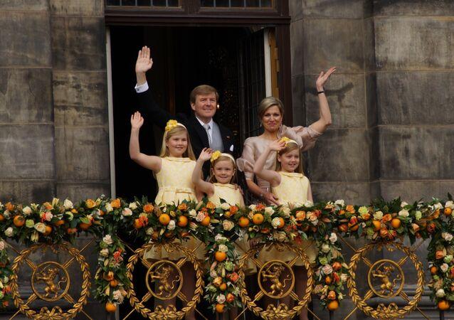 Le roi Willem-Alexander et sa famille