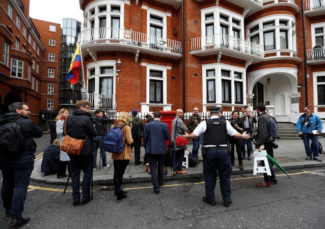 L'ambassade d'Équateur à Londres