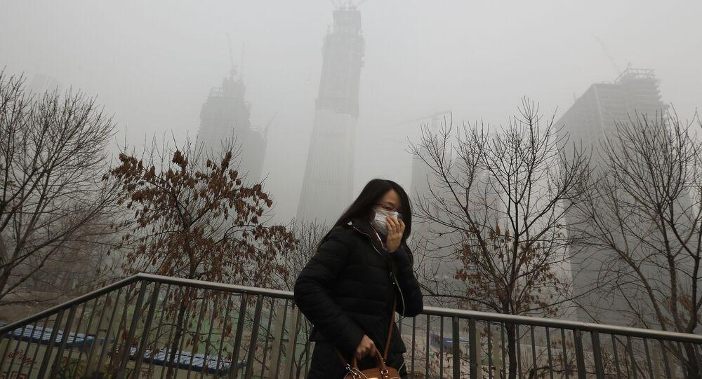 Pékin sous le smog