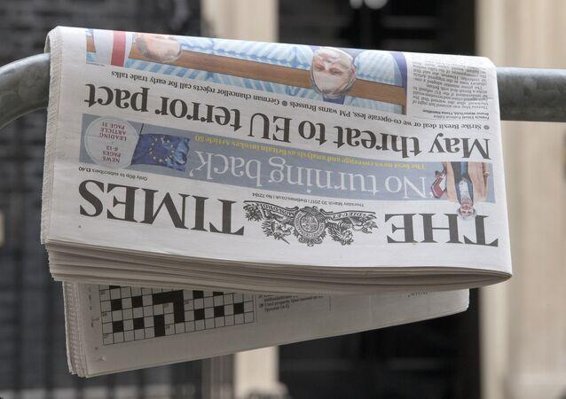 Le quotidien britannique The Times