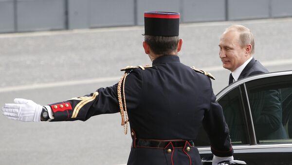 Poutine à Paris la semaine prochaine pour rencontrer Macron - Sputnik France