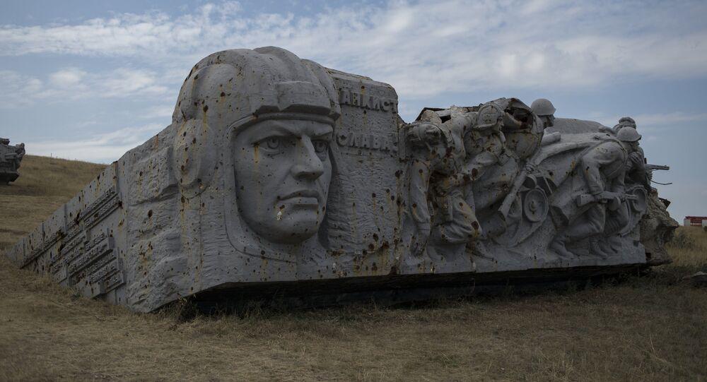 Saur-Mogila, monument historique à Donetsk
