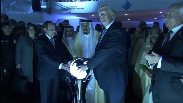 Magie noire et satanisme: le Net s'en prend à Trump en Arabie saoudite - Sputnik France