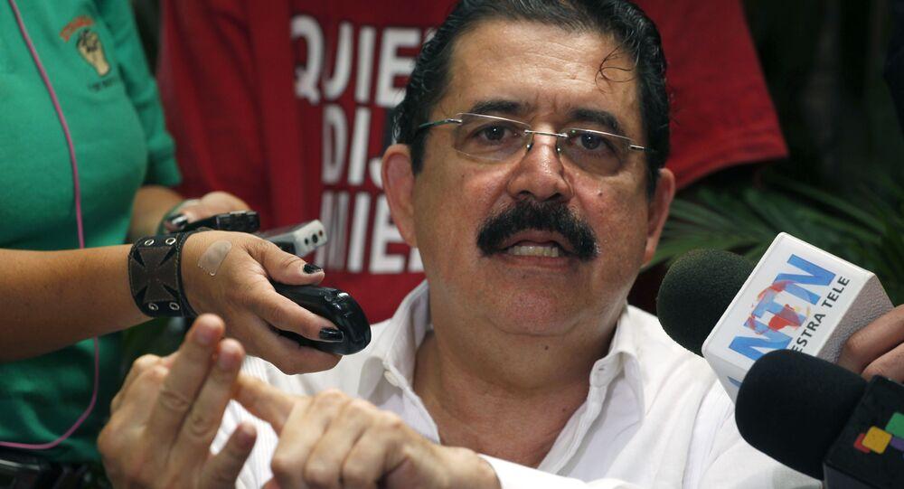 Manuel Zelaya (archivo)