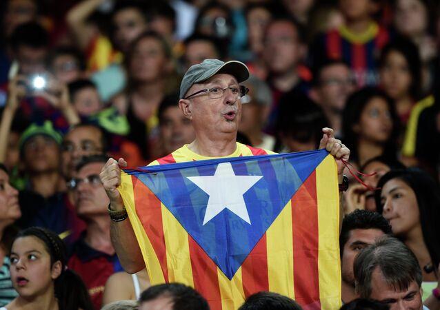 Un supporter du Barça
