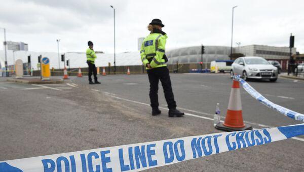 La police à Manchester - Sputnik France