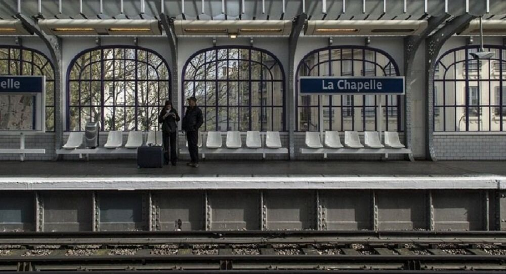 Station la Chapelle, Paris