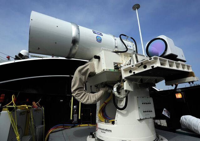 L'arme laser (LaWS) américaine