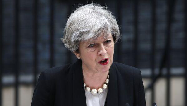 Theresa May, la primera ministra del Reino Unido - Sputnik France