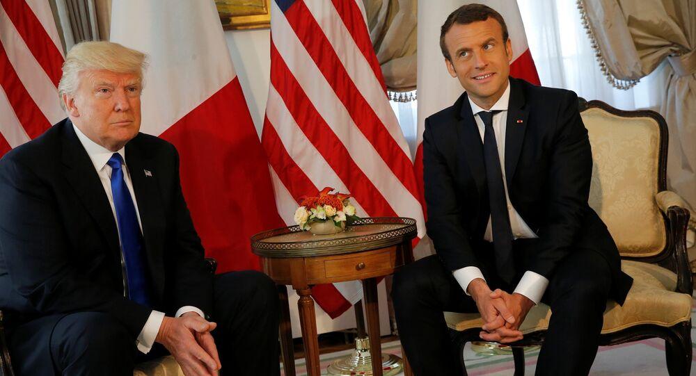 «Direct, franc et pragmatique»: Macron sur sa rencontre avec Trump et sur les thèmes-clés