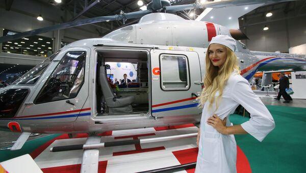 HeliRussia-2017: électromobile-avion, automobile-hélicoptère et le nouvel hélicoptère Ansat - Sputnik France