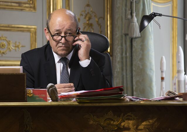 Jean-Yves Le Drian. Archive photo