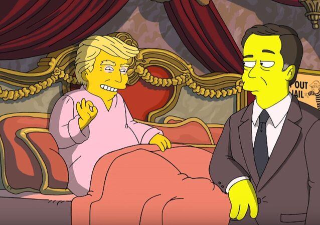 Trump propose à Comey de repartir à zéro… dans «Les Simpson»