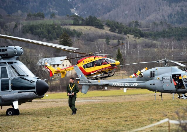 Des hélicoptères de l'armée de l'air française
