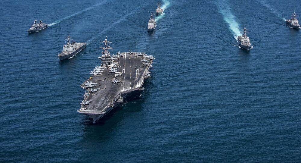 Un 3e porte-avions US dans le Pacifique pour dissuader la Corée du Nord