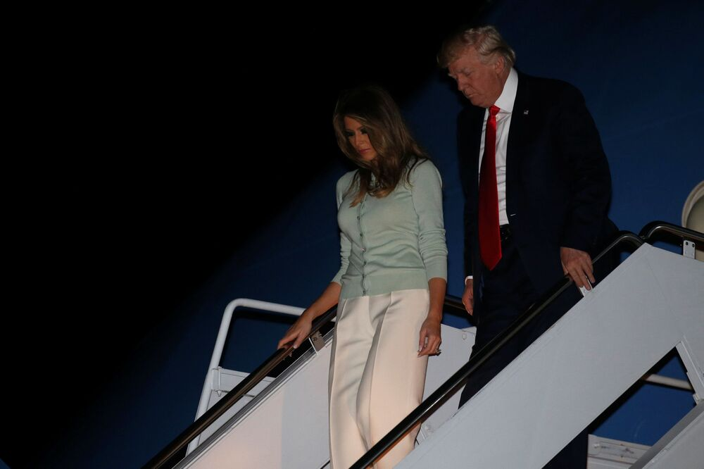 La première tournée de Melania Trump à l'étranger en tant que Première dame