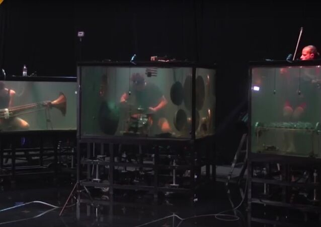 Avez-vous déjà vu un concert sous l'eau?