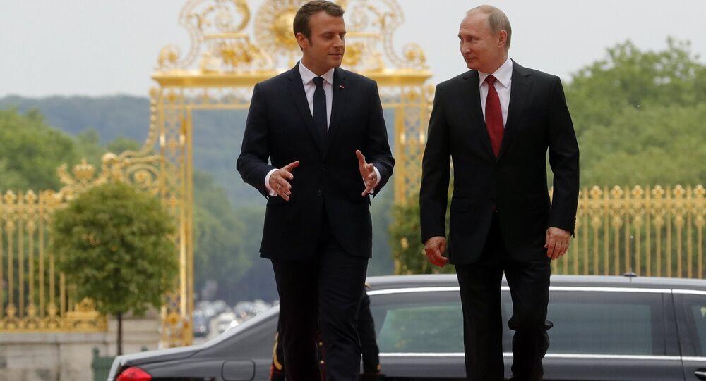 Macron et Poutine