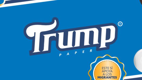 Papier toilette «Trump»: de la douceur «sans frontières» - Sputnik France