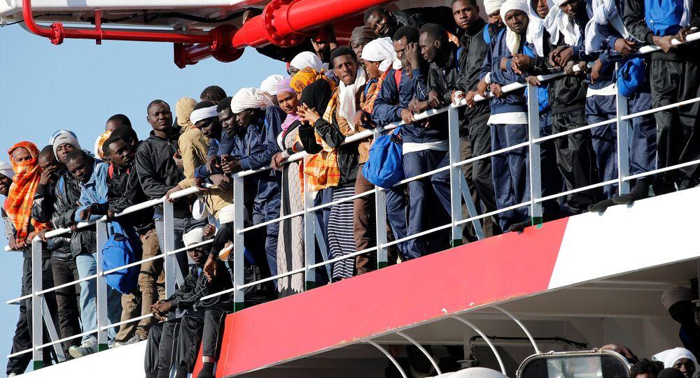 Sept millions de migrants aux portes de l'UE